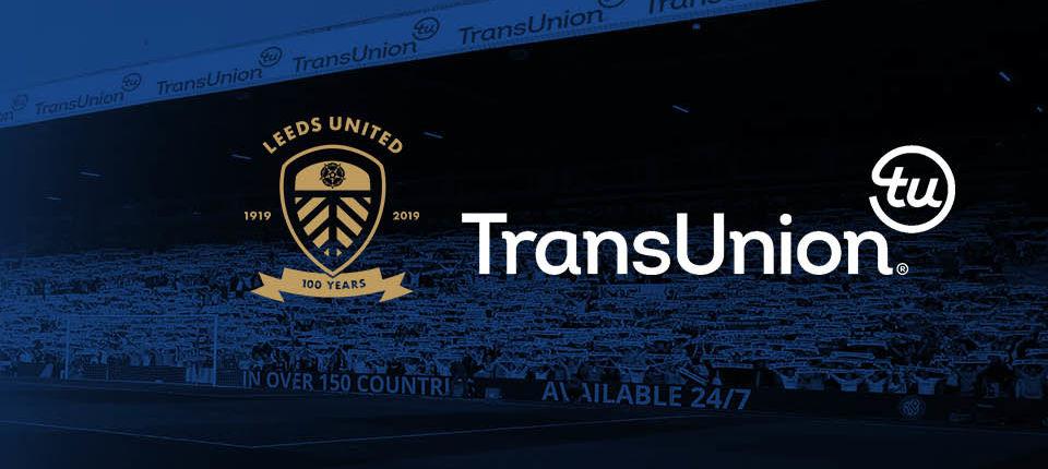TransUnion announces new partnership with Leeds United