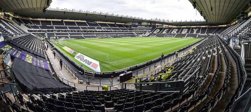 Derby County away fixture altered