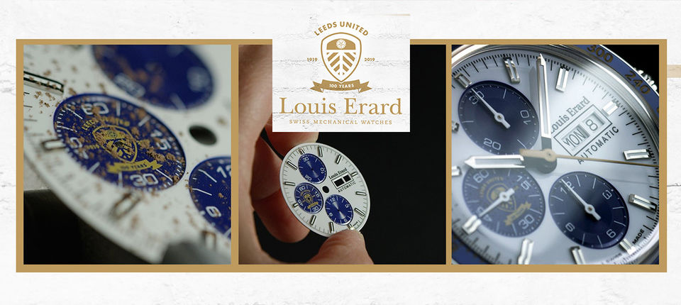 Limited edition centenary watch available now