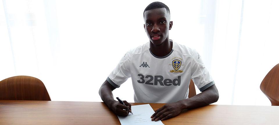 Eddie Nketiah completes Leeds United move