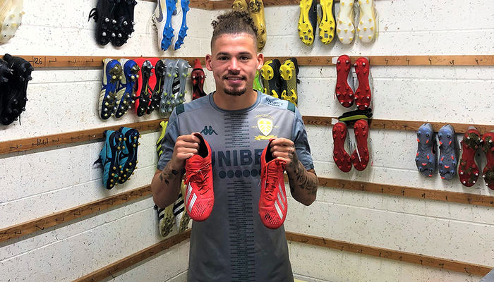 Signed boots for auction: Kalvin Phillips