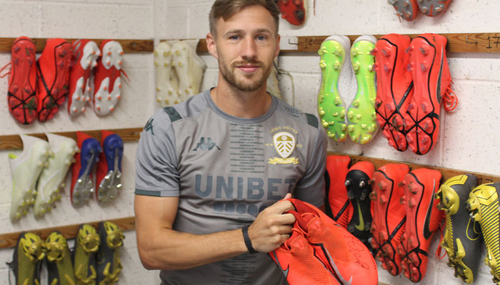 Signed boots for auction: Barry Douglas