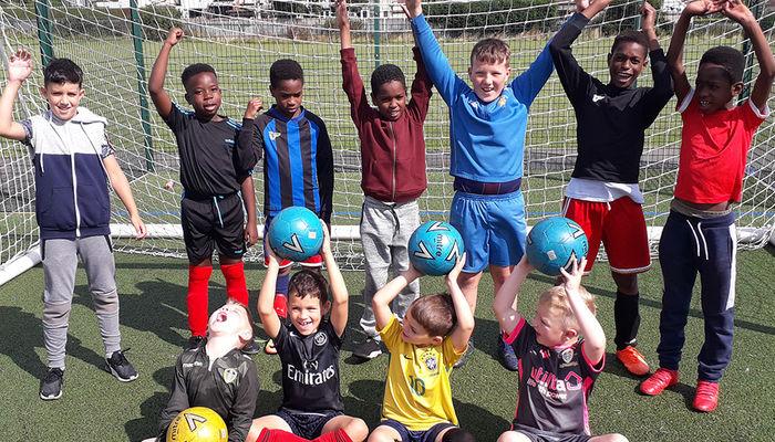Leeds United Foundation tackle Holiday Hunger