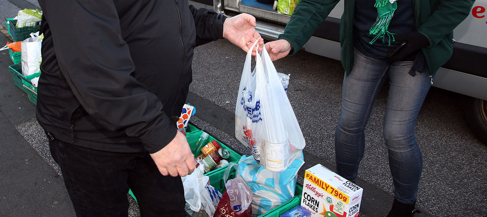 Items required to support Foodbank initiative