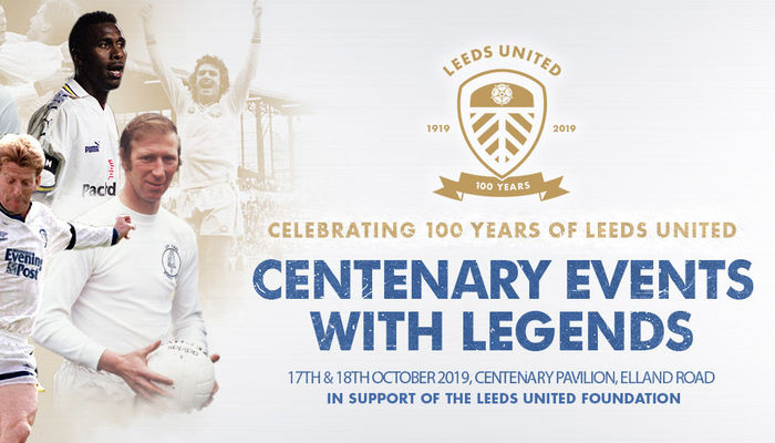 Two evenings with legends in celebration of 100 Years of Leeds United