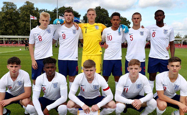 Ryan Edmondson and England U19s