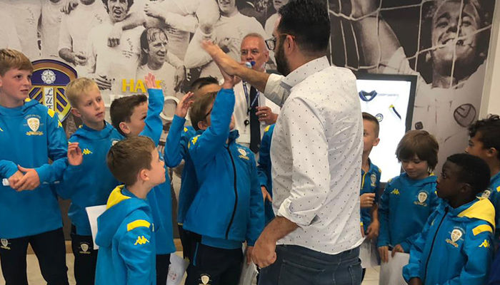 Special day out for Academy youngsters