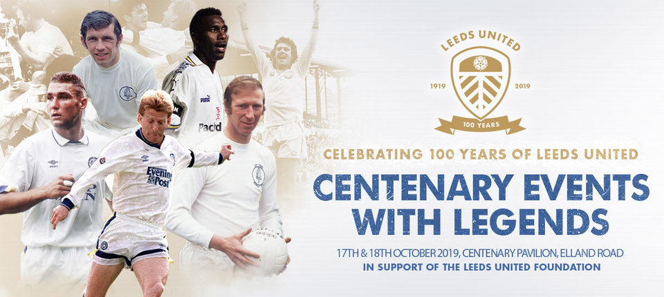 Centenary Events: Now on sale to Season Ticket Holders and Members