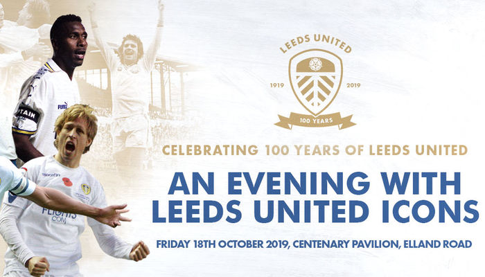 Leeds United Centenary Icons Night now on general sale