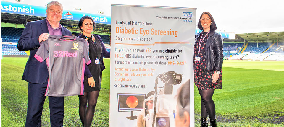 Sports College partner with Eye Screening Programme