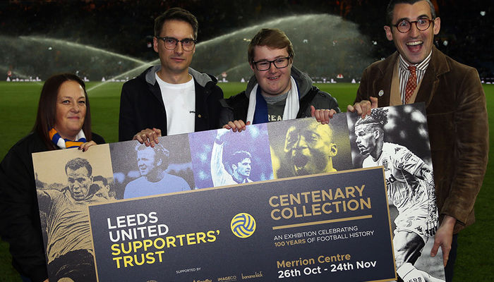 Centenary Exhibition launched by Leeds United Supporters\' Trust