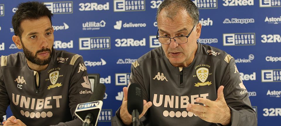 Marcelo Bielsa: I am very proud to be manager of this club