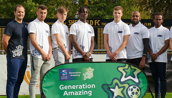 Generation Amazing kicks off link up with Leeds United