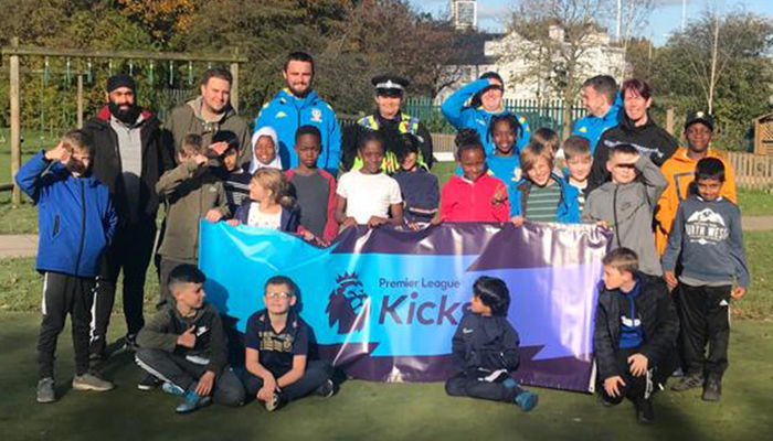 Bonfire safety workshops delivered as part of PL Kicks programme