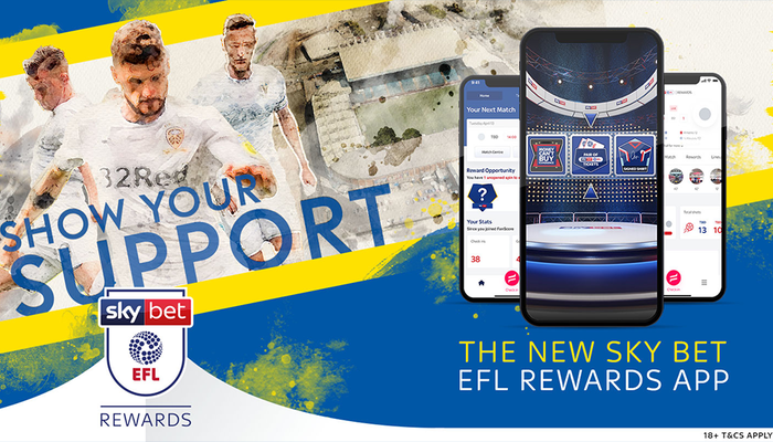 Win free Leeds tickets and more with Sky Bet EFL Rewards