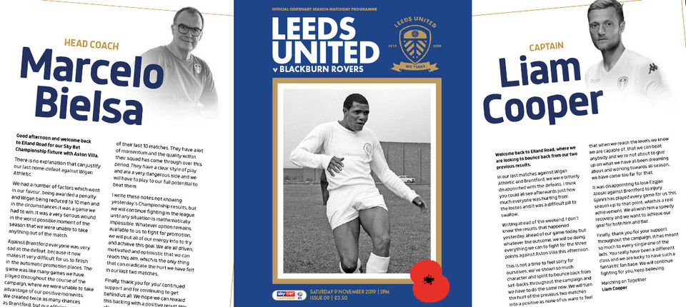 Blackburn Rovers: Your matchday programme