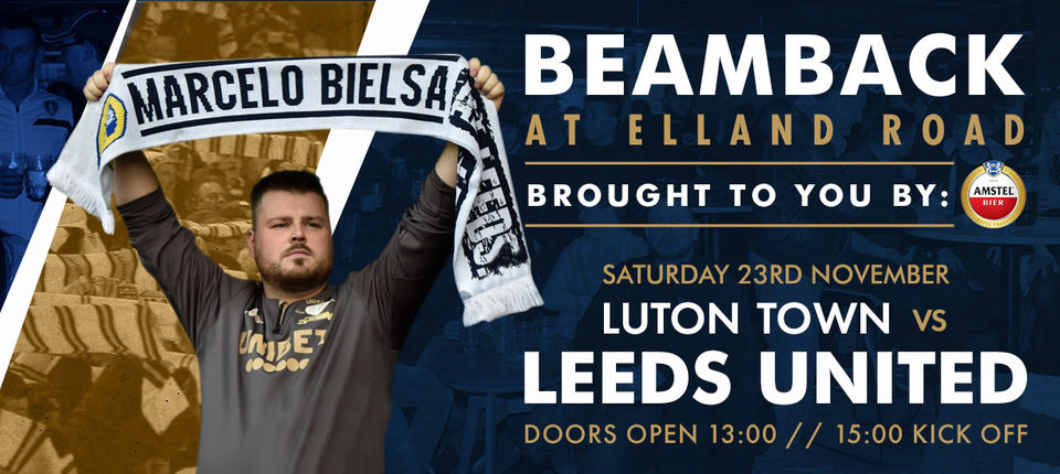 Beamback: Luton Town to be shown live