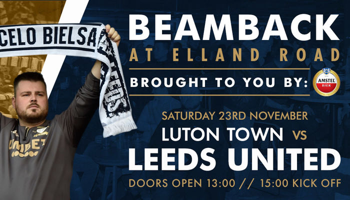 Extra Luton Town Beamback tickets made available