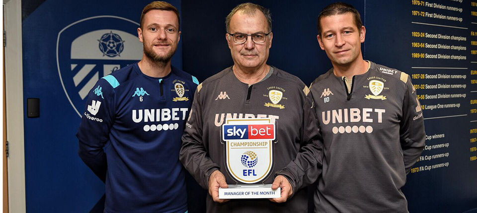 Marcelo Bielsa named Manager of the Month