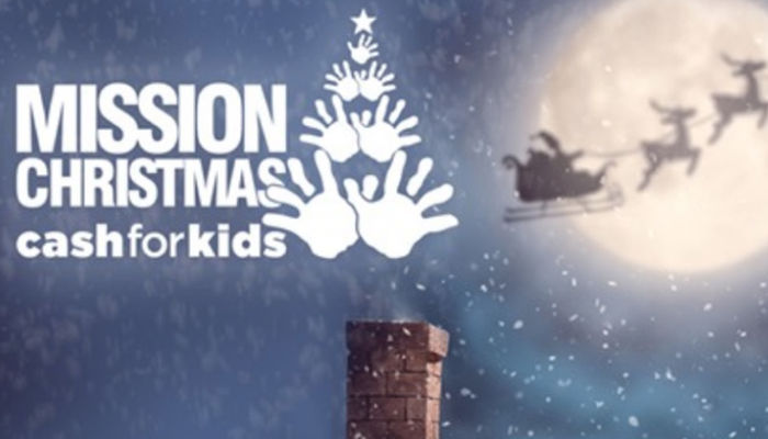 Club lend support to Mission Christmas campaign