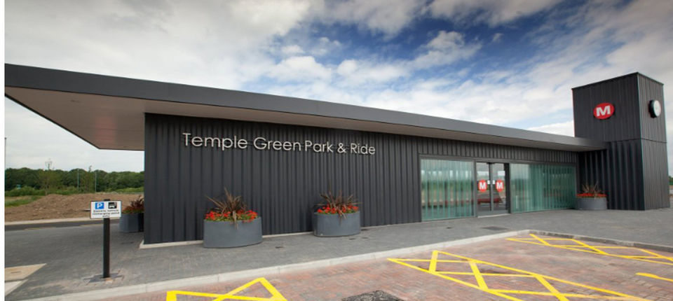 Bristol City: Temple Green Park & Ride shuttle service