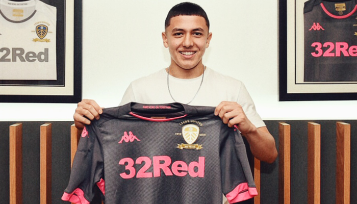 Ian Poveda signs for Leeds United