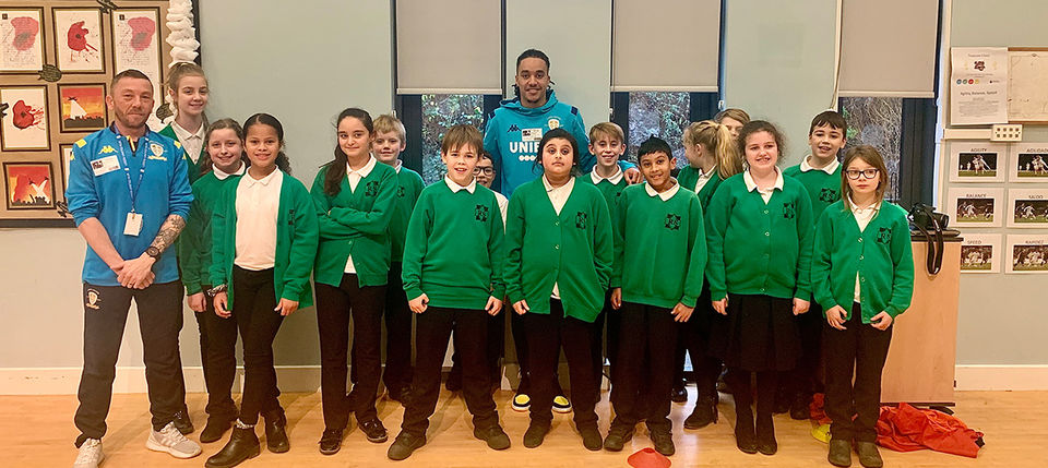 Primary Stars welcomes special visitor
