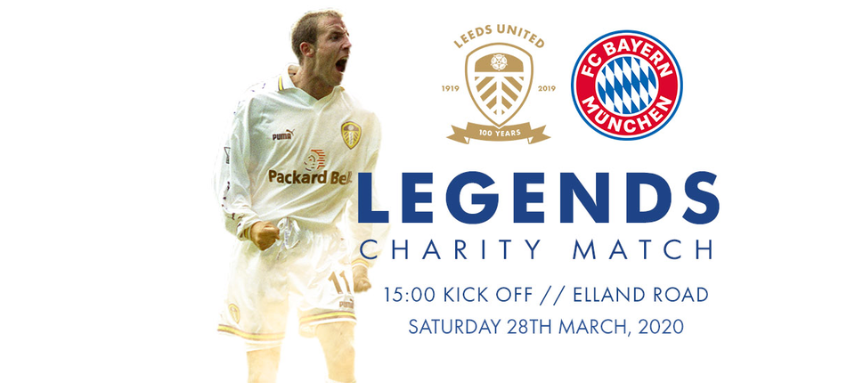 Centenary match against Bayern Munich Legends announced