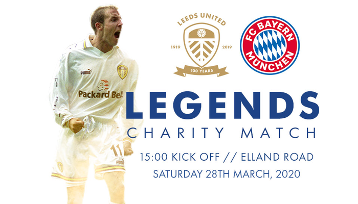 Legends Game Tickets on general sale from 9am Friday