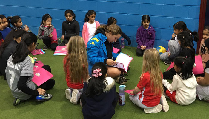 Foundation provide platform for girls to play football