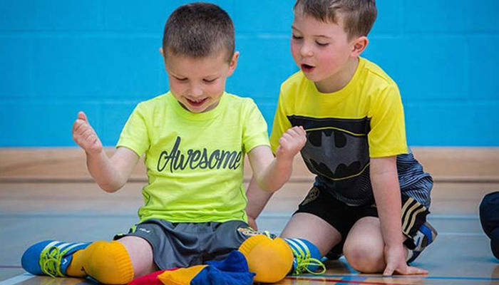 Foundation launch \'Active Learning for Tots\' programme