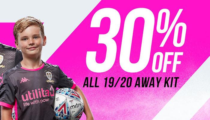 Get 30% off the 2019/20 away kit