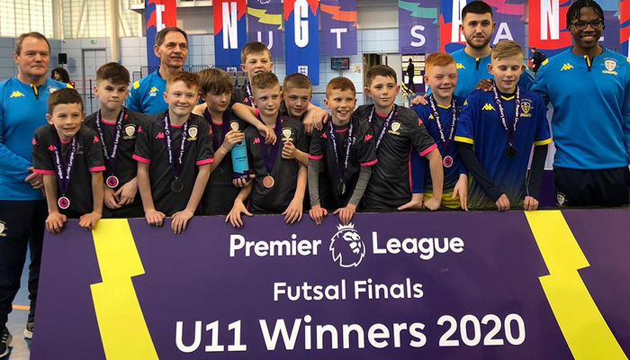 Under-11s become back-to-back champions