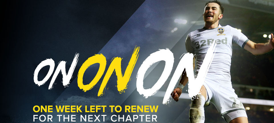 Season Tickets: One week left to renew