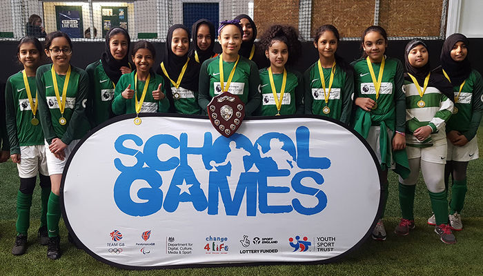 Foundation host girls football tournament