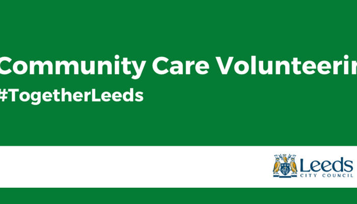 Become a community care volunteer