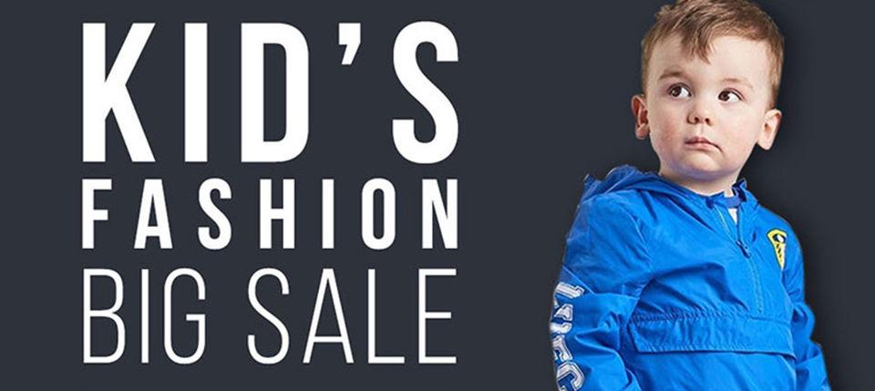 Huge sale on kids fashion items