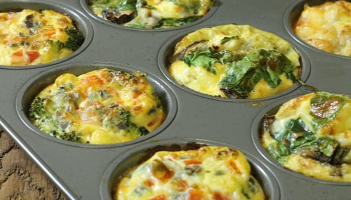 Eat Like A Player: Breakfast Egg Muffins