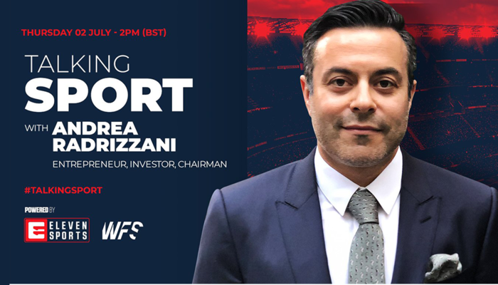 Watch Talking Sport with Andrea Radrizzani