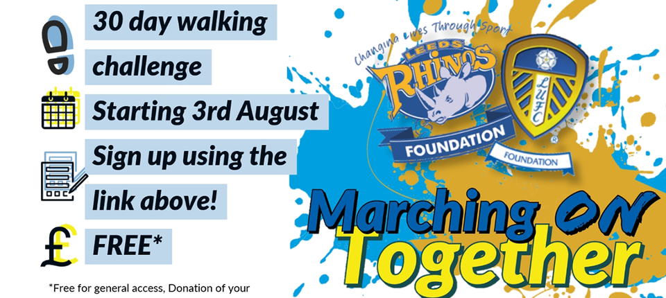 Get fit this summer by taking part in the Marching On Together Project!