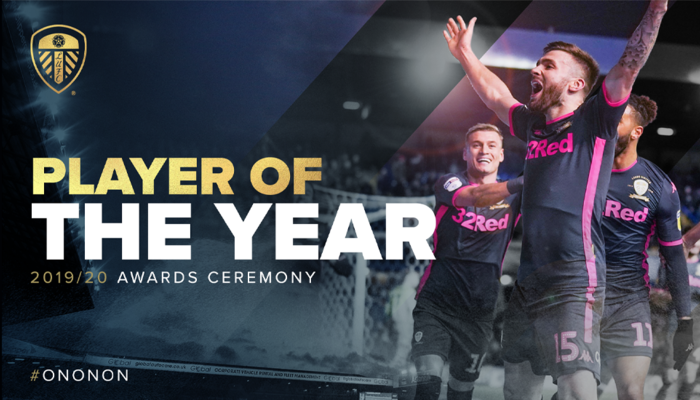 Leeds United Player of the Year 2020 winners