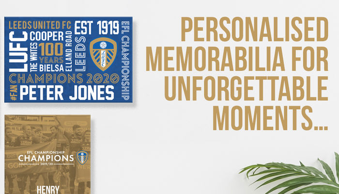 Personalised memorabilia for unforgettable moments