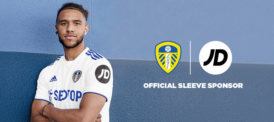 JD become first Official Sleeve Sponsor of Leeds United