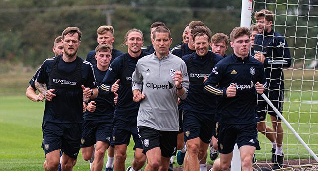 Players Jogging