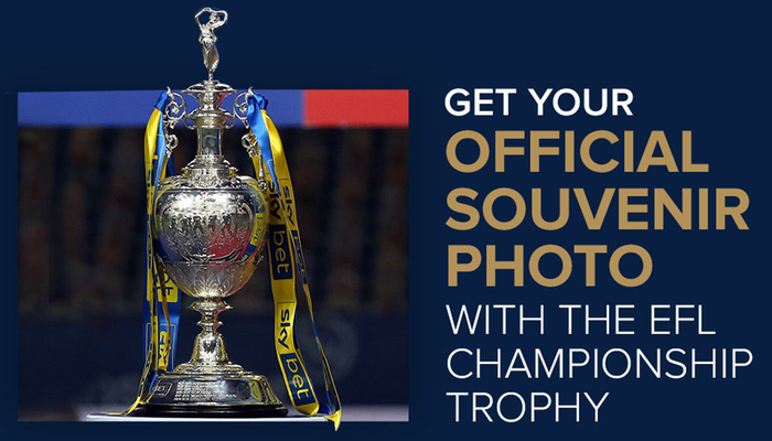 New dates released: Get your photo with the Championship Trophy