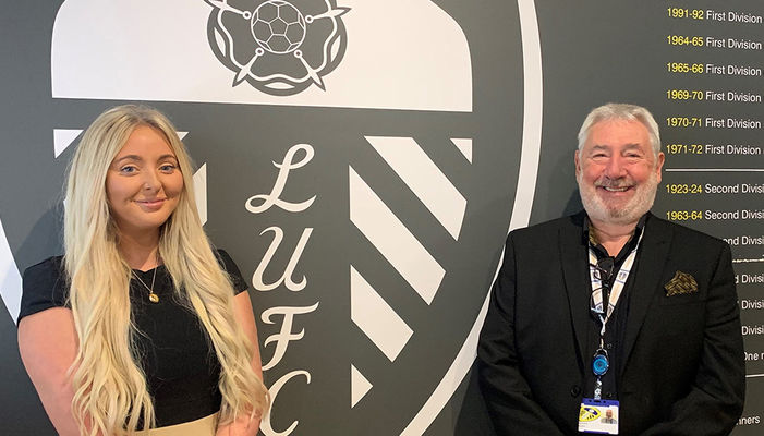 Leeds United Foundation welcome fundraising duo