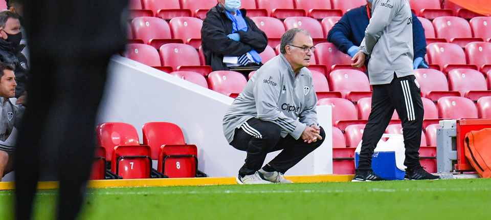 Marcelo Bielsa: We stopped Liverpool from playing as well