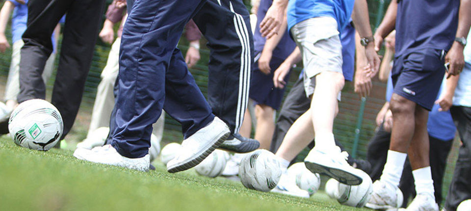 Foundation launch Walking Football sessions