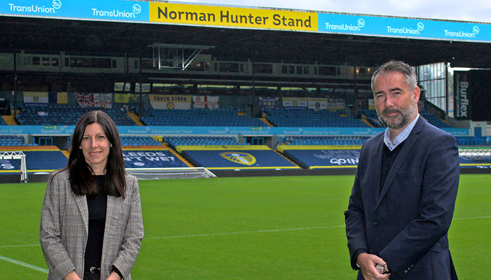 Leeds United team up with TransUnion to teach teens about finance