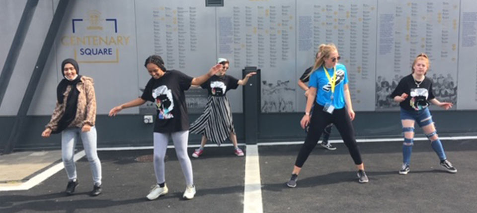 NCS youngsters create \'Walking on Together\' campaign
